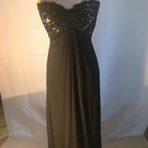 Formal Black and White gown